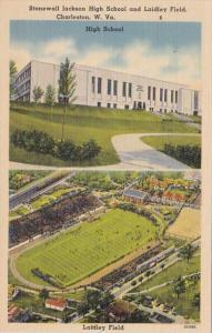 West Virginia Charleston Stonewall Jackson High School and Laidley Field Stadium