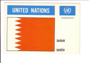 Bahrain, Flag, United Nations