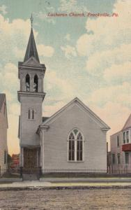 FRACKVILLE, Pennsylvania, 1900-1910s; Lutheran Church