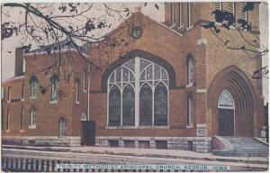 Iowa IA Postcard c1910 KEOKUK Trinity Methodist Episcopal Church