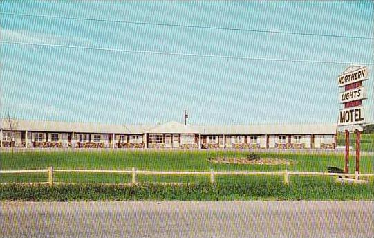 Maine Presque Isle Northern Lights Motel
