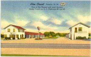 Linen of Ake Court Hwys 85 & 50 Socorro New Mexico NM