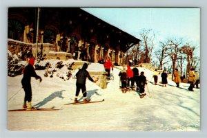 Montreal, Mount Royal Chalet, Scenic View, Chrome Postcard