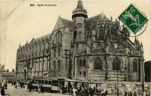 CPA AK EU Église St-LAURENT (416239)