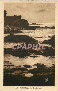 Old Postcard Quiberon Cote Sauvage