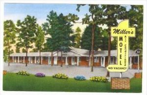 Miller's Motel, Exterior View, Richfield, North Carolina, 1940-1960s