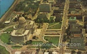 Aerial View Jefferson City MO 1966