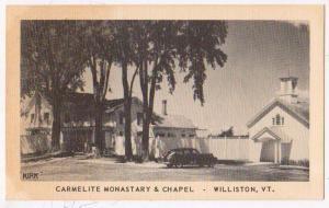 Carmelite Monastary & Chapel, Williston VT