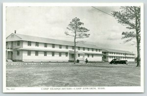 Buzzards Bay-Camp Edwards MA~Cool, Summer Evening @ Camp Headquarters~1940s WWII