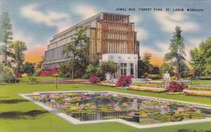 Missouri Saint Louis Jewel Box Forest Park 1943