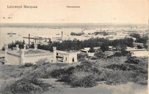 Mozambique Maputo Lourenco Marques panorama postcard