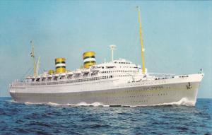 Holland America Line Ocean Liner S.S. NIEUW AMSTERDAM , 30-50s