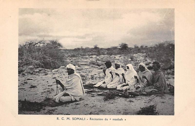 Somalia Natives, Somali - Recitation du masbah