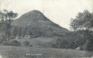 Post card Scotland Byne Hill Girvan