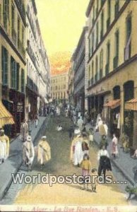 La Rue Randon Alger Algeria, Africa, Unused
