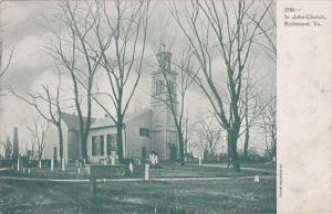 Virginia Richmond Saint John Church 1909