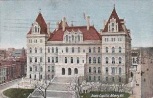 New York Albany State Capitol Building 1912