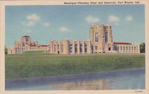 Indiana Fort Wayne Municipal Filtration Plant And Reservoir