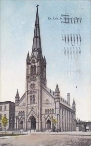 Illinois Chicago German Ev Luth Saint Mathews Church 1907
