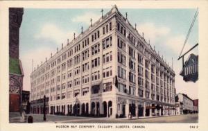Hudson bay company Store , Calgary , Alberta , Canada , 30-40s
