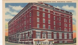 WINCHESTER, George Washington Hotel, Virginia, 30-40s