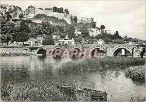 Modern Postcard Namur Citadel Legs Bridge