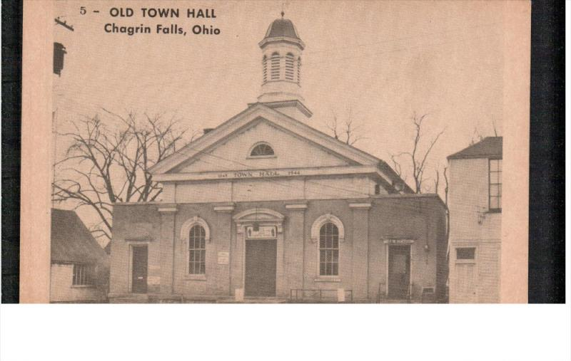 CHAGRIN FALLS, Ohio; Old Town Hall, 00-10s