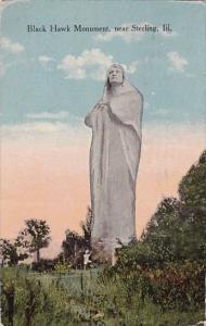 Illinois Sterling Black Hawk Monument 1922