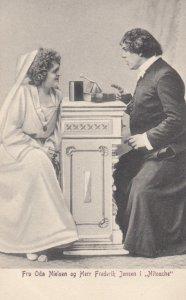 THEATRE / Theater ; Actress ; Fru Oda Nielson og Herr Frederik Jensen i Nito...
