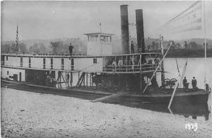 Riverboat, Steamship, RPPC, Reproduction, No. 1979