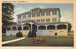 Muray Hill Hotel, Fallsburg, New York, Early Postcard, unused