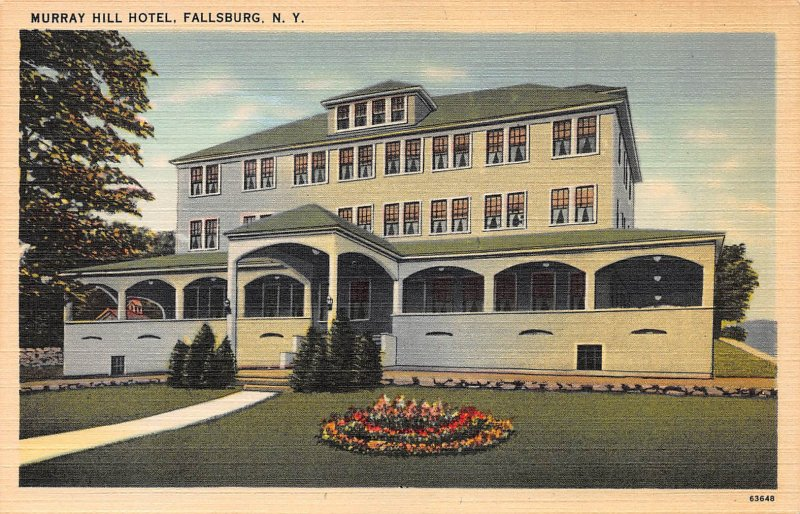 Muray Hill Hotel, Fallsburg, New York, Early Postcard, unused