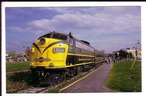 Railway Train, Passangers, Waterloo Station, Ontario