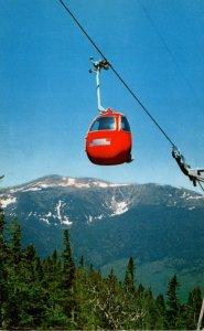 New Hampshire Gorham Pinkham Notch Wildcat Mountain Gondola