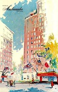 Illinois Chicago Hotels Ambassador East & West