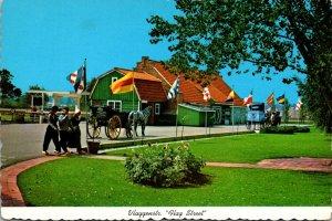 Michigan Holland Dutch Village Vlaggenstraat Flag Street