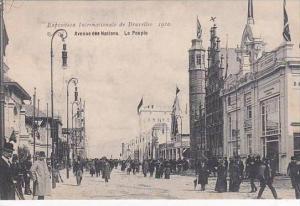 Belgium Bruxelles Exposition 1910 Avenue des Nations