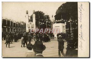 PHOTO CARD Roundabout Champs Elysees Exhibition Christ