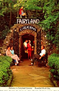 Tennessee Chattanooga Lookout Mountain Entrance To Fairyland Caverns Rock Cit...