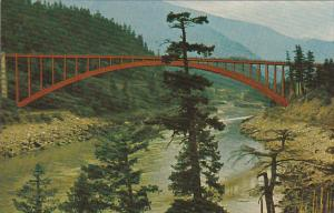Canada Alexandria Bridge Fraser Canyon British Columbia