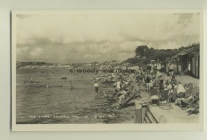 iw0019 - Colwell Bay Shore , Isle of Wight - postcard by Dean
