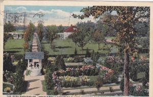 SARATOGA SPRINGS, New York; The Irish Gardens of Inniscarra, Chauncey Olcot...