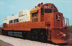Illinois Central Railroad Alco Locomotive #1100