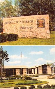 Johnstown PA University of Pittsburgh~Stone Sign~Krebbs Medicine Ed Hall 1960s