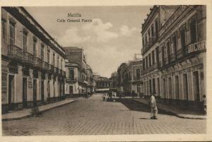 spain, MELILLA, Calle General Pareja (1910s)
