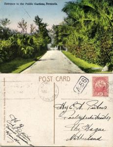 bermuda, Entrance to the Public Gardens (1931) Stamp
