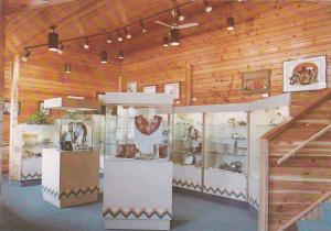 Interior of Chief Chiniki Handicraft Centre, Authentic Native American Indian...