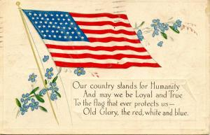 USA - Old Glory, the red, white and blue