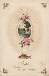 Greetings, Fish, 1er Avril- Devinez Qui Vous l´Envoie, 1900-1910s