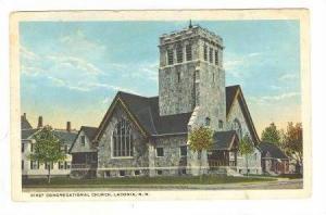 First Congregational Church, Laconia, New Hampshire,PU-1924